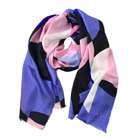 Kate Spade Limelight Silk Oblong Scarf