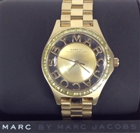 Marc Jacobs Henry Skeleton Glitz Watch MBM3338