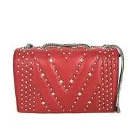 MCM Diamond Disco Studded Mini Crossbody Bag