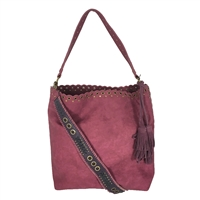 Steve Madden Madaxx Faux Suede Bucket Hobo