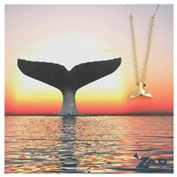 Zad Jewelry Spirit Whale Pendant Necklace