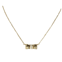 Kate Spade Moon Rive Bow Pendant Necklace