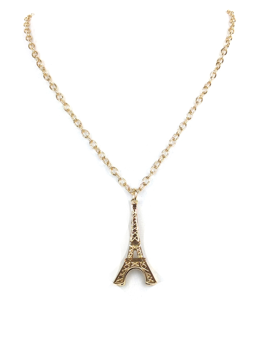 kate spade parisian lights eiffel tower pendant necklace