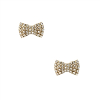 Kate Spade Sparkling Bow Stud Earrings