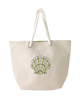 Magid Seashell Canvas Tote