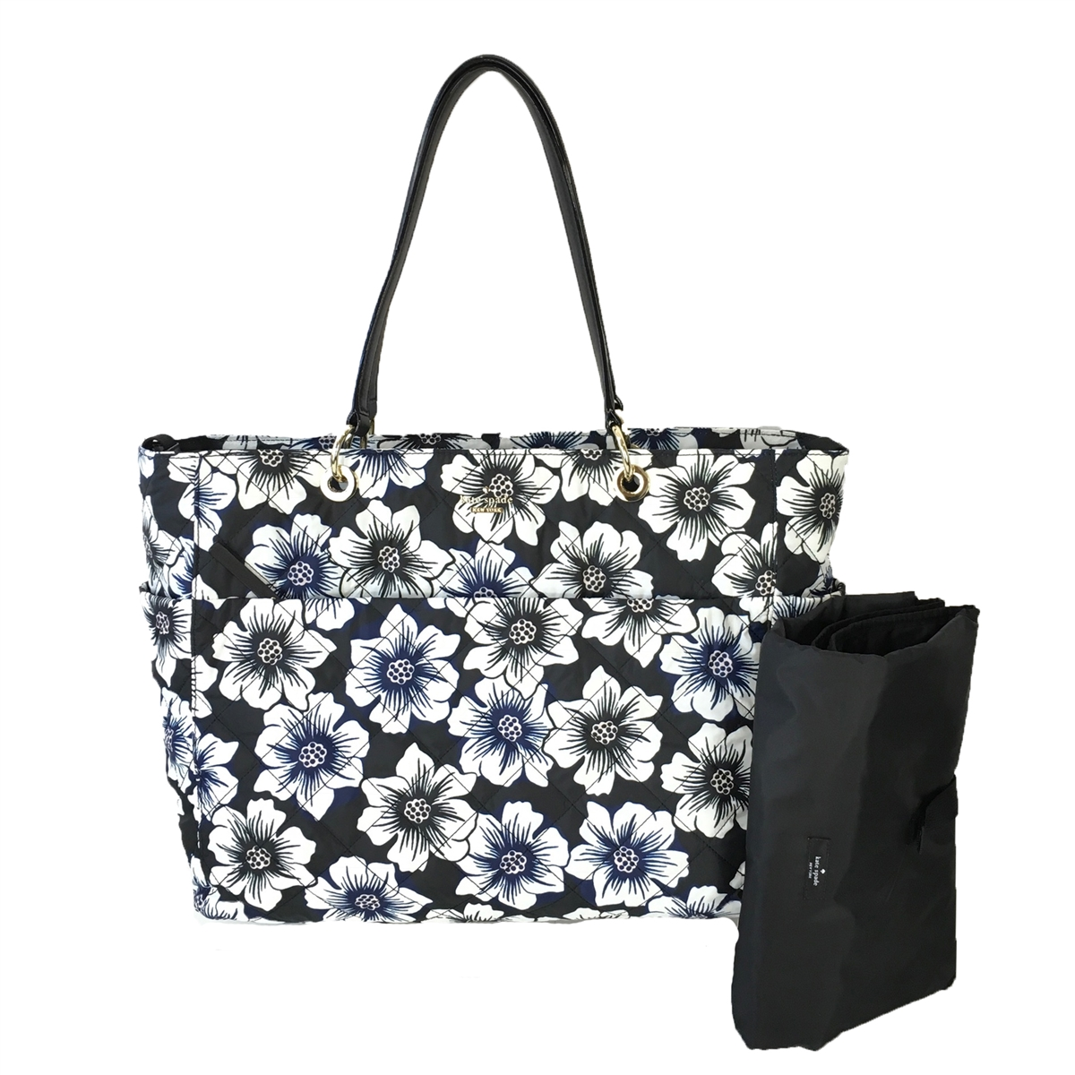 Kate Spade Emerson Place Floral Print Pauline Baby Bag Black Multi