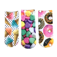 Fashion Culture Sweet Treats Socks Set