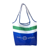 Tory Sport Logo Packable Eco Shopping Tote