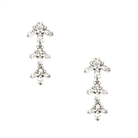 Kate Spade Ice Queen Crystal Chandelier Earrings
