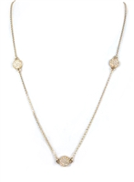 Kate Spade Bright Spot Pave Scatter Necklace