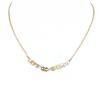 Kate Spade Let's Go Steady Necklace