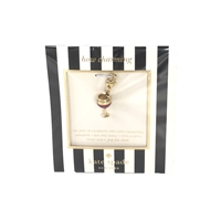 Kate Spade Red Wine Glass Charm