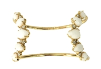 Kate Spade Seastone Sparkle Open Cuff Bracelet