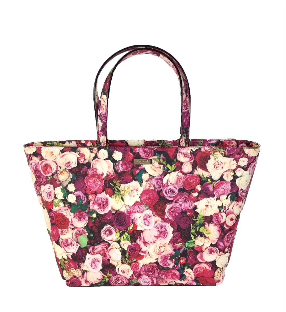 Kate Spade Grant Street Jules Floral Tote Bag, Photo Rose