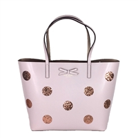 Kate Spade Glittering Dots Little Len Leather Tote,