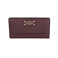 Kate Spade Bay Street Leather Stacy Wallet