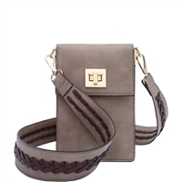 Melie Bianco Brett Vegan Leather Guitar Strap Crossbody