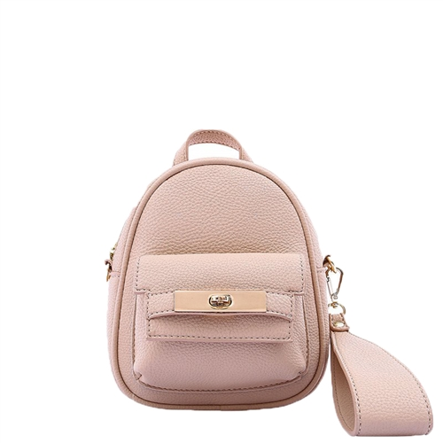 Melie Bianco Mikey Vegan Leather 'Backpack' Mini Crossbody