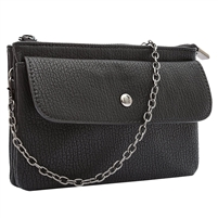 Melie Bianco Andy Vegan Leather 3 in 1 Clutch Crossbody