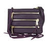 Rebecca Minkoff Moto 3 Zip Leather Crossbody Bag