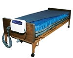 "Drive Medical Med Aire Plus 8"" Alternating Pressure and Low Air Loss Mattress System"