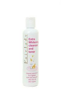 Fairlady Extra Whitening Cleanser and Toner 250ml