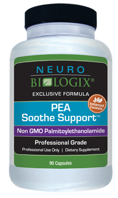 PEA Soothe Support 90C by Neurobiologix - NEW!