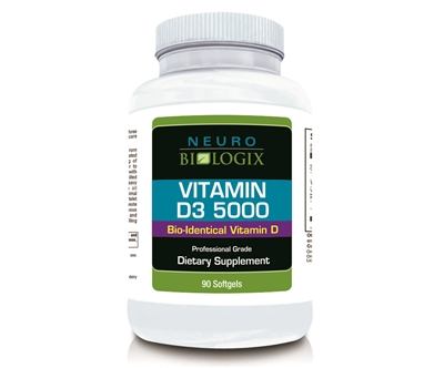 Vitamin D3 5000 (90 Softgels)