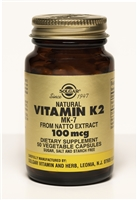 Natural Vitamin K2 (MK-7) 100 mcg