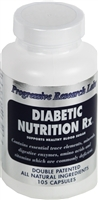 Diabetic Nutrition Rx-105 Capsules