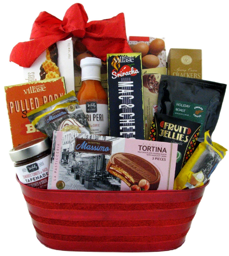 Cooking Enthusiasts Gift Basket Glitter Gift Baskets