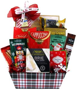Warm Comforts -Chocolate Christmas baskets