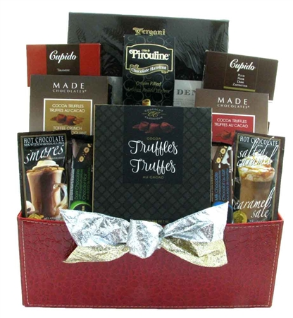 chocolate corporate basket