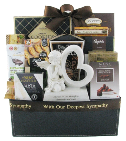 Sympathy gift basket Montreal