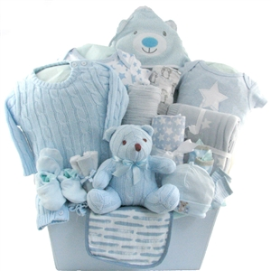 neutral baby gift baskets 2111