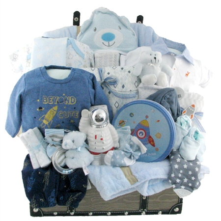 Deluxe Baby Boy First Toy Chest