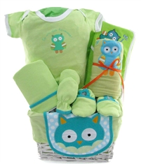 Daddy's Lil Golfer themed baby basket deluxe