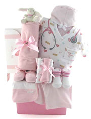 Baby Nurse gift basket