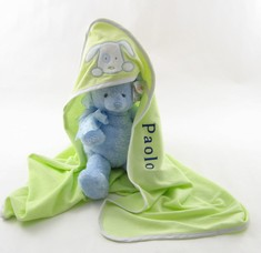 Personalized Infant Hooded Towel