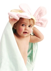 personalized embroidered hooded towel