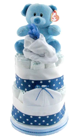 themed diaper cake