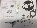 International Farmall Carter UT cast iron top carburetor kit