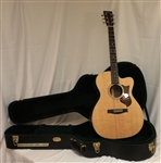 Martin OMCPA4R Rosewood with Fishman F1 analog electronics - Natural (2013)
