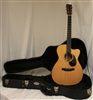 Martin OMC-18E Orchestra Model Acoustic-Electric Guitar - Natural (2016)