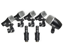 CAD Stage 7 Drum Microphones, 7 Mics & Case