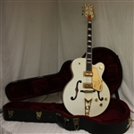 Gretsch 6136 White Falcon with Cadillac Tailpiece - Vintage White