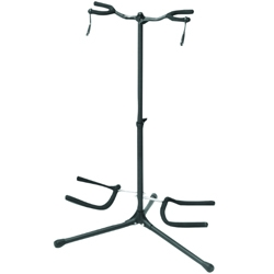 On Stage Stands GS7252B-DUO Double Guitar Stand