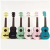 Makala Shark Bridge Soprano Color Ukuleles