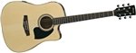 Ibanez PF15ECENT Performance Dreadnought Acoustic-Electric Guitar - Natural