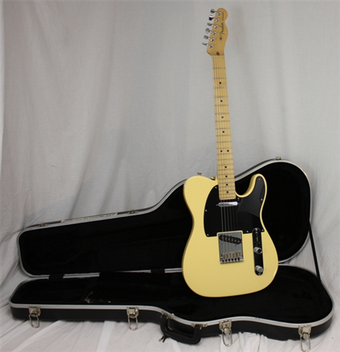 white telecaster vintage american standard